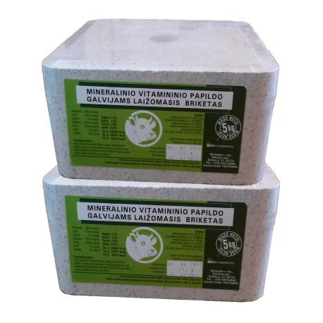 Ekologinis mineralinis laižalas galvijams 5 kg