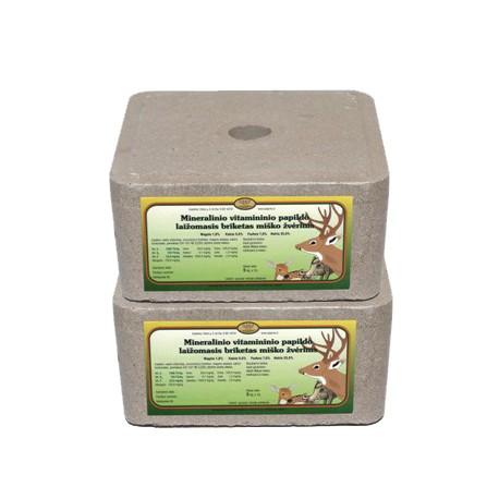 Miško žvėrims 5kg mineralinio vitamininio papildo briketas